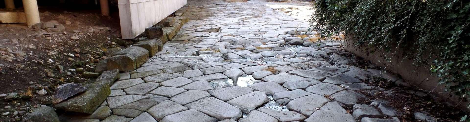 Parte dell'antica via Annia, realizzata nel 131 a.C.